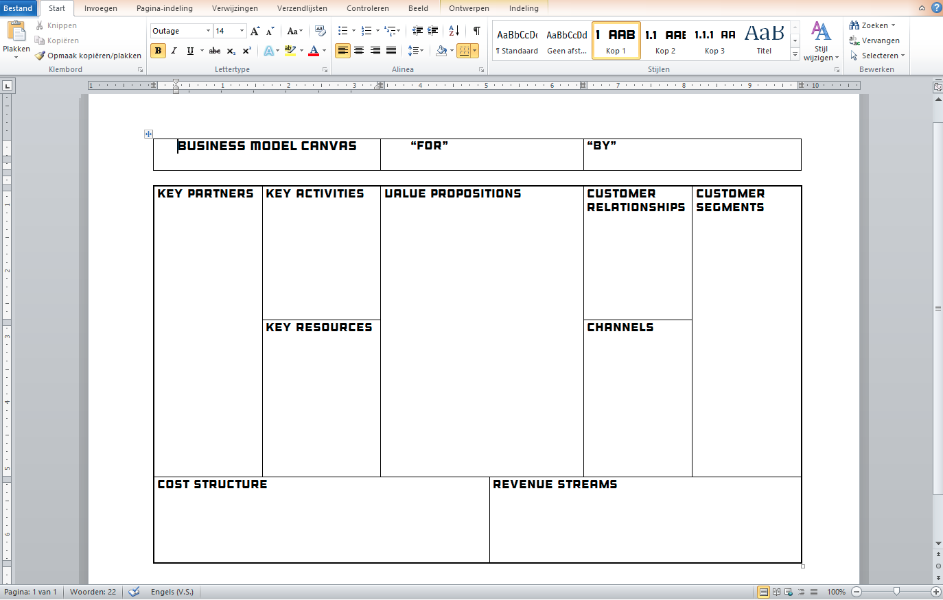 Business model canvas template businessmodelcanvastemplateg flashek Choice Image